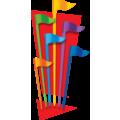 Six Flags Entertainment Corporation (NYSE:SIX) Company Logo Icon